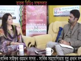 Interview of Bangladeshi celebrity singer Noureen with Shaifur Rahman Sagar by eurobdnewsonline.com