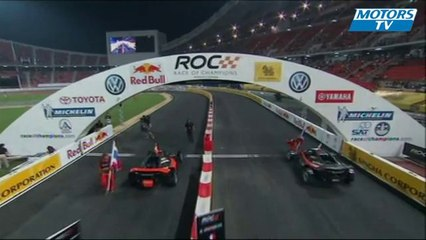 Race of Champions 2012 - Grosjean becomes champion