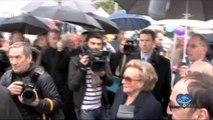 L'opération Pieces Jaunes à Nices avec Bernadette Chirac / Groupe La Poste - Tous formidables - Tous solidaires