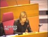 Région IDF - Question d'actualité de Muriel GUENOUX (PRG) sur la formation professionnelle et l'apprentissage