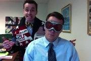 Un directeur de lycée et son assistant chante Ice Baby ice! Marrant...
