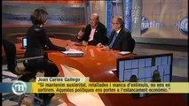 TV3 - Els Matins - Cara a cara entre Joan Carles Gallego, de CCOO, i Josep González, de la PIMEC