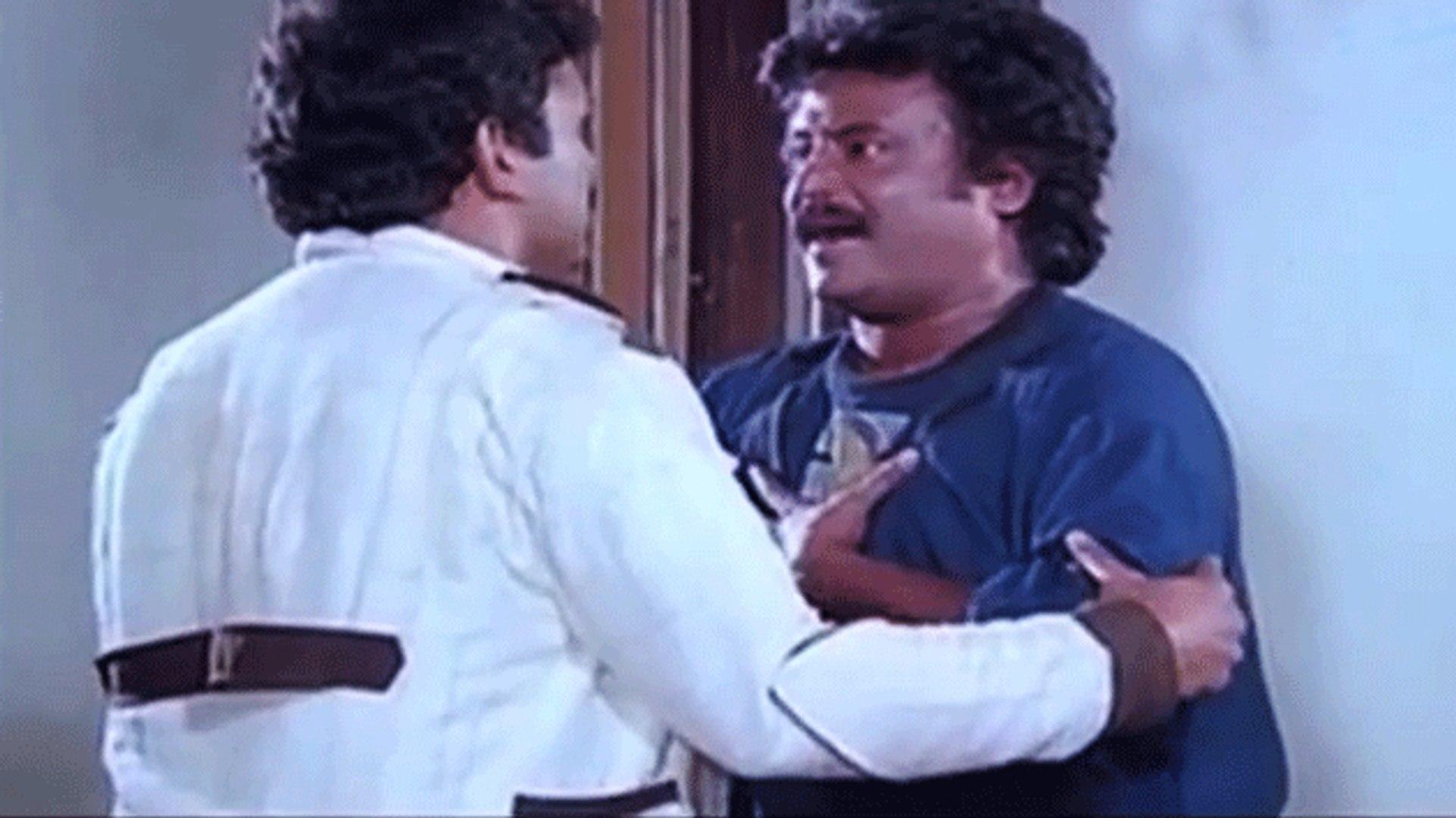 Rajnikanth & Prabhu Scene | Guru Sishyan | Tamil Film