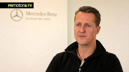 Ultima entrevista a Michael Schumacher antes del accidente F1 Review 2013 en PRMotor TV Channel (HD)