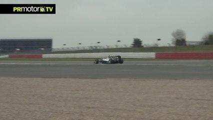 Sonido del motor en el nuevo Mercedes AMG Petronas F1 W05 - Nico Rosberg Shakedown en PRMotor TV (HD)
