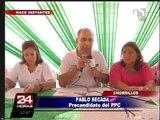 Regidor Pablo Secada: Mi esposa ya dijo lo que tenía que decir, ya basta (1/2)