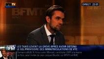 Le Soir BFM: Taxis vs VTC: Matignon reporte les immatriculations de VTC - 13/02 3/5