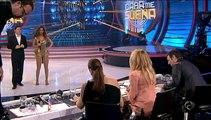 """Edurne intenta imitar a Beyoncé Knowles cantando """"Crazy in Love"""""""