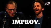 Seth Green and Larry King do some Improv | DweebCast | OraTV