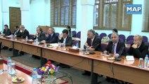 M.Elalamy s'entretient avec une délégation de parlementaires et de chefs d'entreprise européens