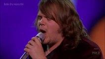Caleb Johnson - Radioactive (Solo) - American Idol 13