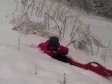 Maëlane 2 neige fév 2014