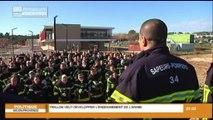 Montpellier des sapeurs pompiers de l'Hérault