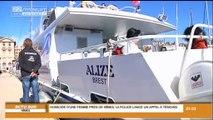 Les marins du frioul en grève