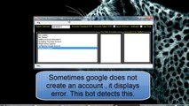 Free Youtube Bot  Account Creator 2014 [Working] - video