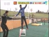 スキーノルディック複合銀メダル渡部暁斗選手のスラックライン