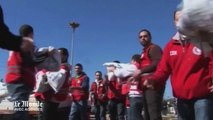 Syrie : l'ONU livre de la nourriture dans la ville assiégée de Homs