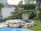Création d'un jardin japonais, jardin japonais à Tours