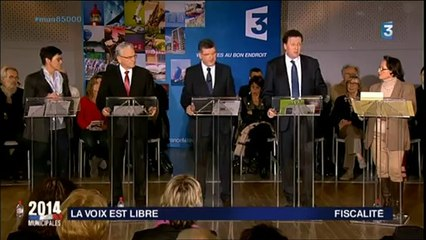 La Voix Est Libre Spéciale Municipales 2014 à La Roche-sur-Yon
