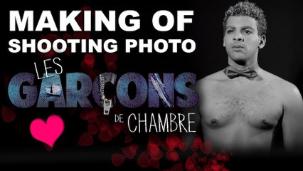 Les Garçons De Chambre - Shooting Of Saint Valentin 2014 - Giovani