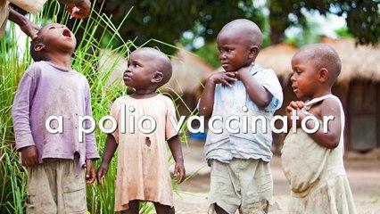 Taking a walk with Josephine, a polio vaccinator in Congo