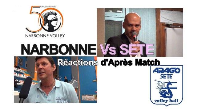 reportage NVB vs SETE 2014