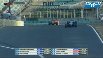 Big Crash at 2012 European F3 Open Hungary