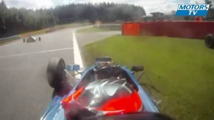 2012 MSA Formula Ford Spa Big Crashes