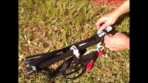 NO more walking lines! EASIEST Kite Rigging for Kitesurfing Small or Crowded kiteboarding Launch Site