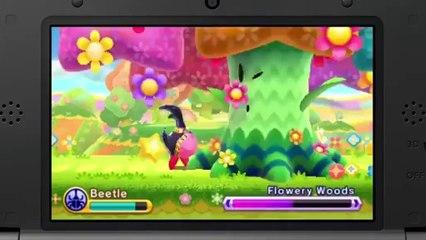 Kirby Triple Deluxe - New Trailer de Kirby Triple Deluxe