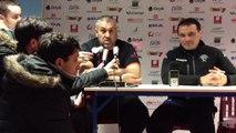 Rugby Top 14 - Christophe Urios  réagit après l'annulation d'Oyonnax - Bordeaux