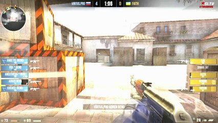 SLTV StarSeries V - Faith vs. Virtus.pro @ mirage_csgo
