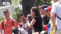 Estudiantes y opositores protagonizan nueva jornada de protesta en Venezuela