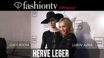 Hervé Léger Fall/Winter 2014-15 Backstage ft Coco Rocha | New York Fashion Week NYFW | FashionTV