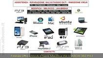 FIRENZE,    UNLOCK IPHONE, MODIFICA WII U, XBOX 360, PS3, PSP EURO 20