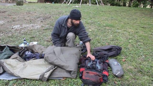 Bivouac en Vercors - Le matériel