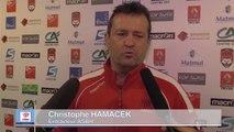20e journée de Pro D2 ASBH Lyon Réaction Christophe Hamacek