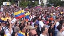 Marchas en Venezuela piden por libertad de detenidos y respaldan a López