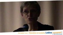 3000 élèves scolarisés à Lodève de la maternelle au lycée : Lodève en Mouvement avec Bernadette Trani