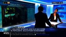 Politique Première: Sondages: La popularité de François Hollande continue de baisser - 17/02
