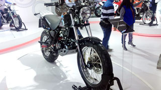 Hyosung RT125D Cross Country Bike @ Delhi Auto Expo 2014 !