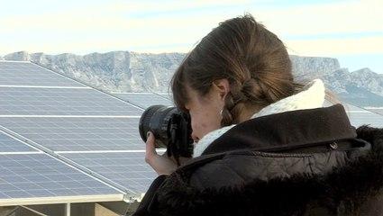 Inauguration du parc solaire des Sauvaires