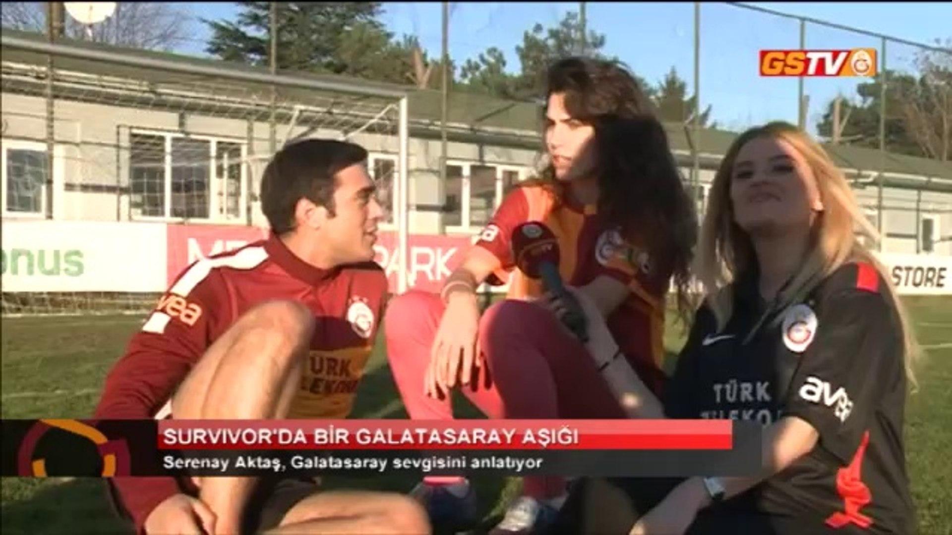 GSTV Survivor'da bir Galatasaray Aşığı Serenay Aktaş