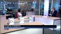 Bernard-Henri Lévy parle sur la Libye (LCI, le 15 février 2014)
