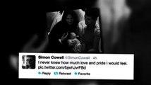 Simon Cowell présente son fils Eric