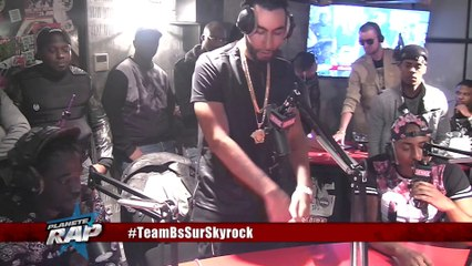 Team BS en live dans Planète Rap (Skyrock)