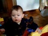 esteban premiers pas avec maman