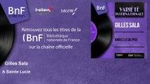 Gilles Sala - A Sainte Lucie - feat. André Pyair et son orchestre