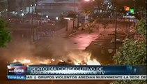 Sede de Venezolana de Televisión bajo asedio de grupos opositores