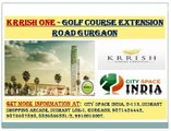 Retail shops in krrish one sector 66@~9873687898~@soft launch gurgaon